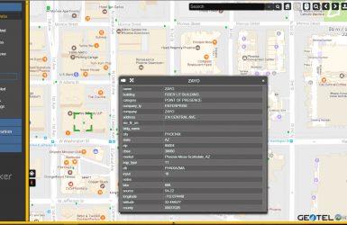 geotel teletracker fiber map