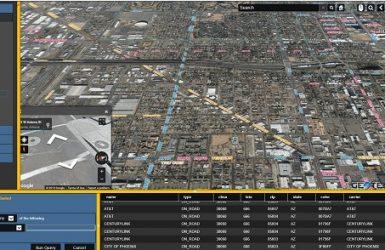 carrier fiber network maps
