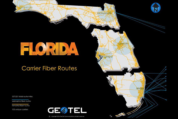 geotel carrier fiber routes florida