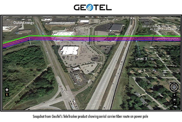 geotel teletracker fiber routes maps
