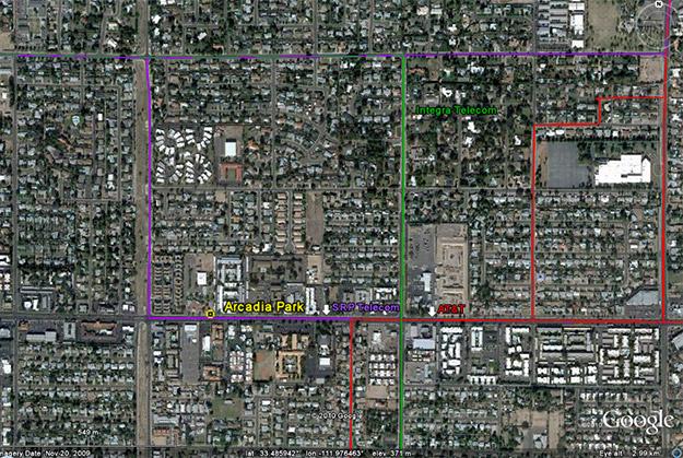 geotel fiber map aerial satellite