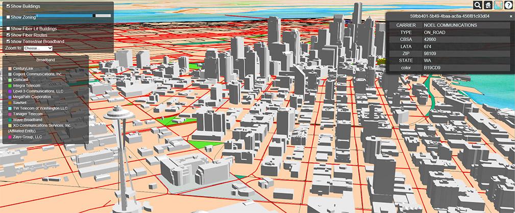 Fiber Optic Maps Map Gallery Geotel Communications