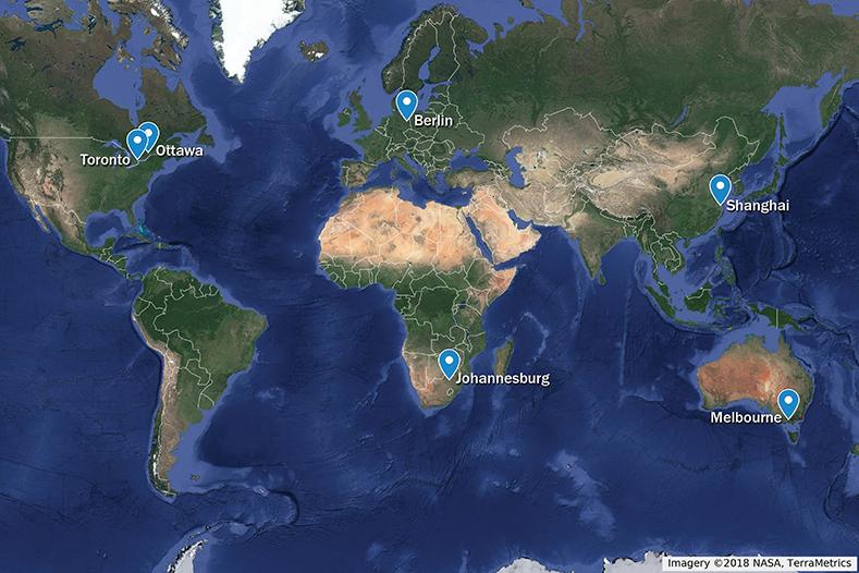5g trials around world