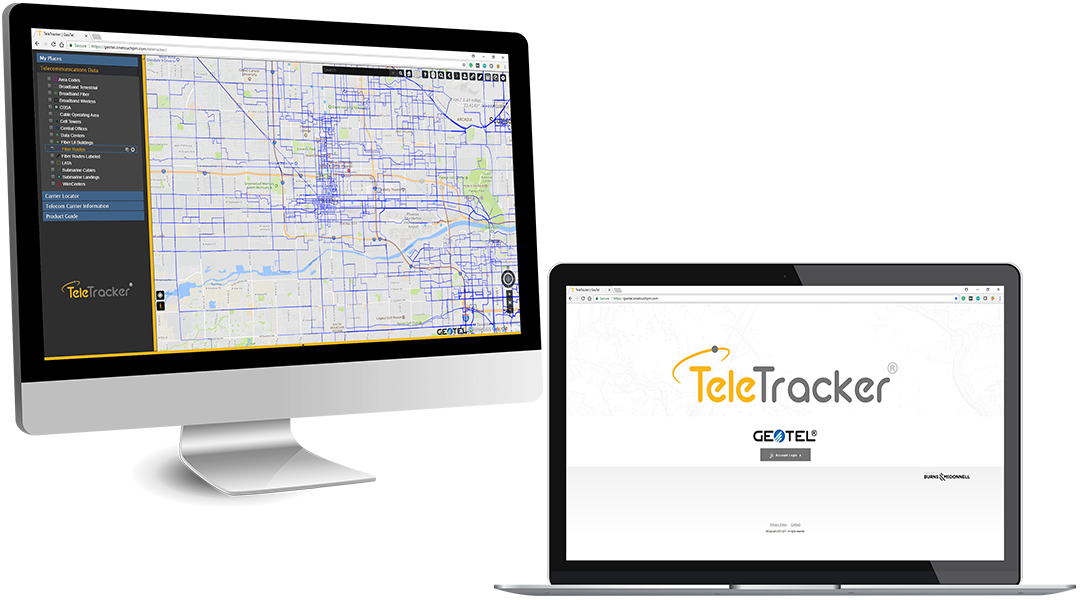fiber maps online teletracker demo